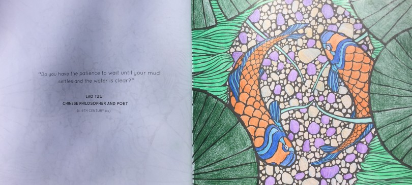 coloring-page-of-koi-fish-with-lao-tzu-quote-about-mindfulness