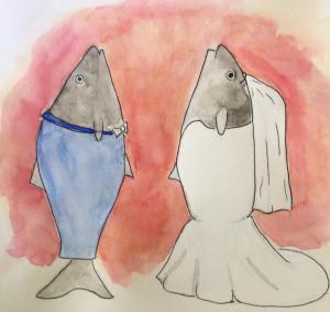fish wedding