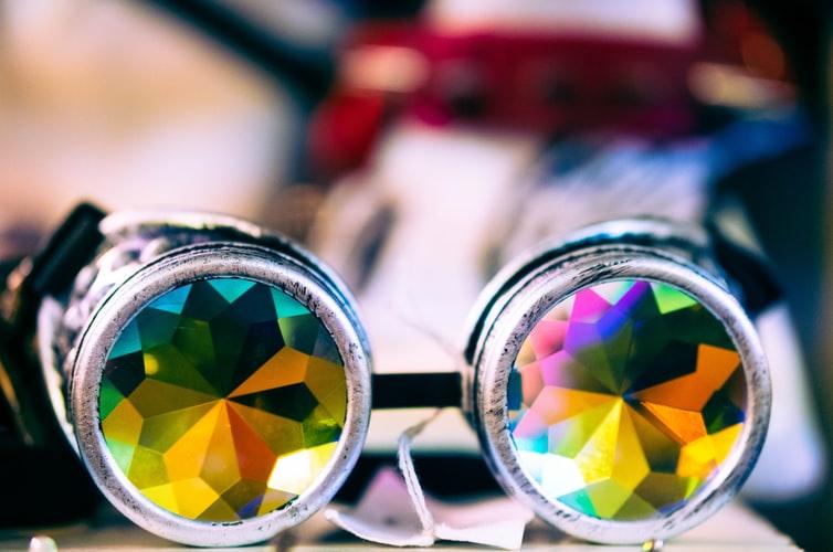 kaleidoscope-binoculars-resting-on-table